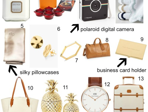 graduation gift guide | BNB styling