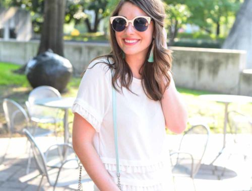hot summer day outfit | BNB styling