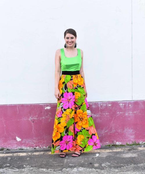 tropical vintage | BNB styling