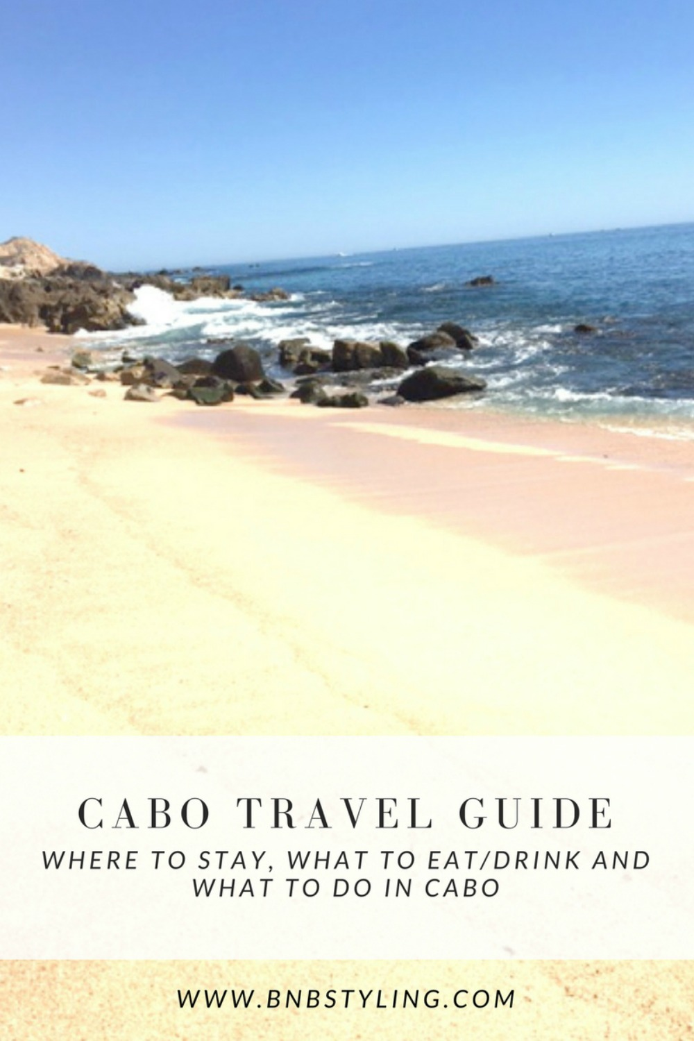 Cabo Travel Guide