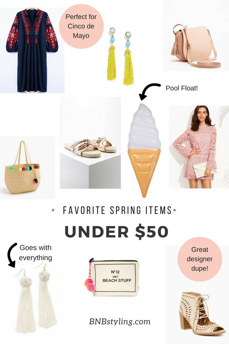 favorite spring items under $50