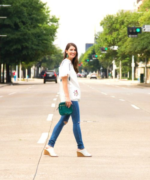 downtown casual look