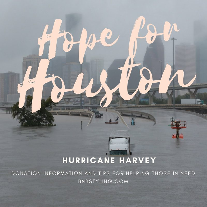 Hope for Houston: Hurricane Harvey