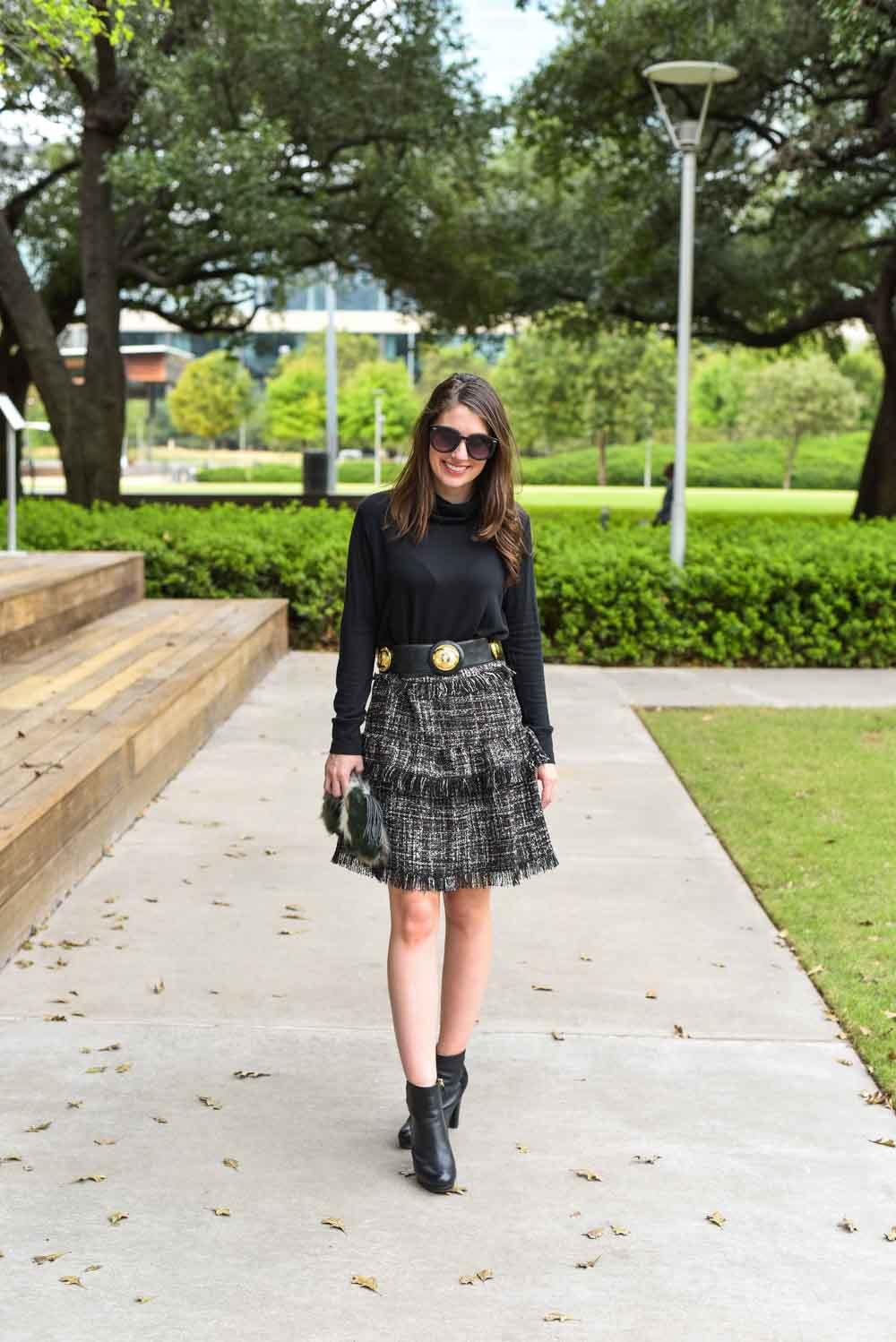 a touch of tweed