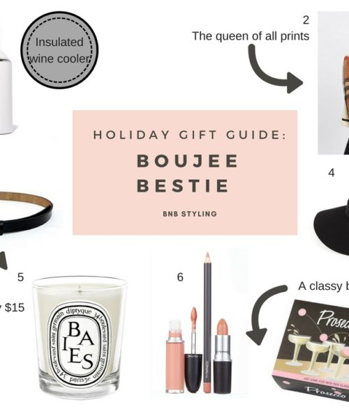 Holiday Gift Guide: Boujee Bestie