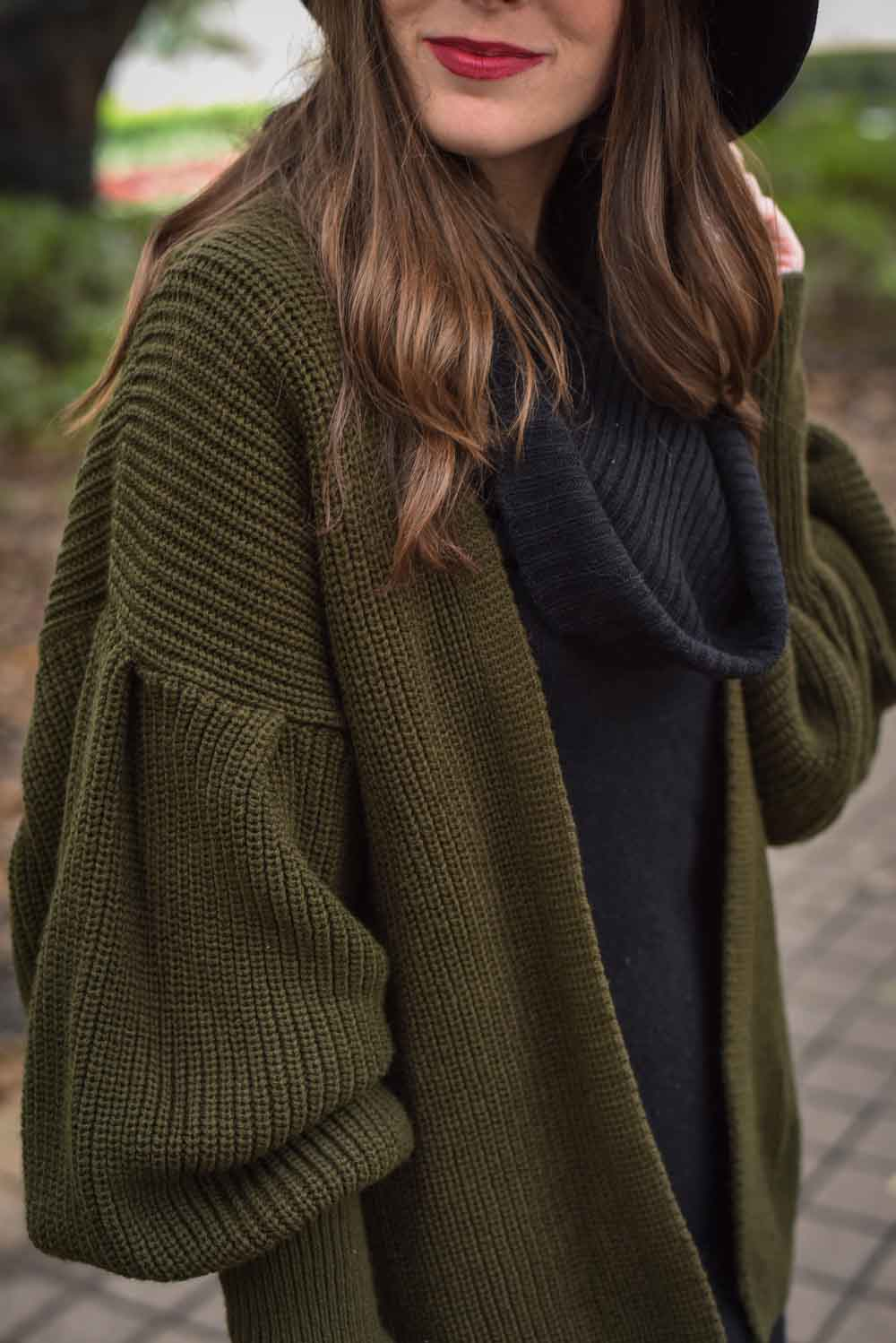trendy winter outfit